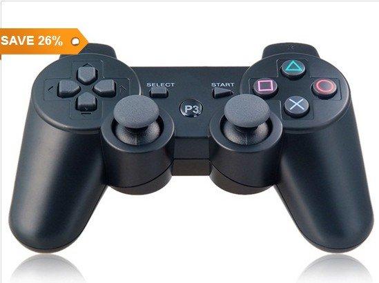 [CN]Sechs-Achsen DualShock Wireless Controller für PlayStation 3 für 7,94€ inkl. Versand