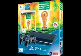 **REAL.DE**PlayStation 3 12 GB inkl. FIFA Fußball-WM 2014 und 2 DualShock-Wireless-Controller
