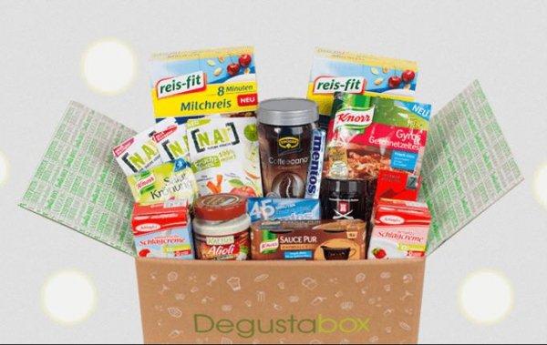 Degustabox mit Lebensmitteln für 9,99€