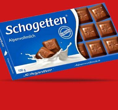SCHOGETTEN Schokolade nur 44Cent bei Penny