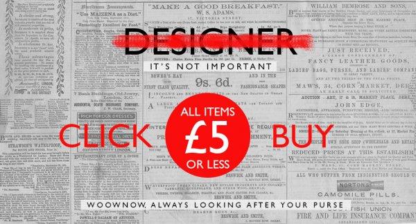 [woownow.com] Kleidung und Schuhe aus UK. Alles für 6,13€ (£5.00)