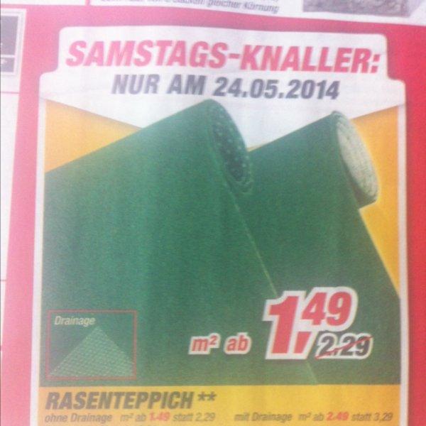Toom Rasenteppich nur am 24.05.2014