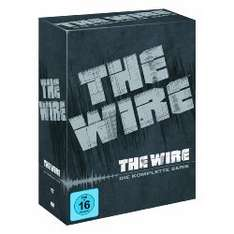 The Wire Staffel 1-5 Komplettbox (DVD) @ Amazon