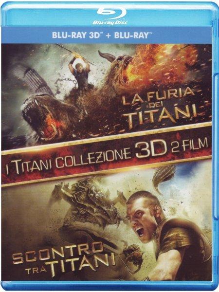 Kampf der Titanen & Zorn der Titanen Blu Ray (3D+2D)  Amazon es 11,73€