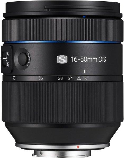Samsung EX-S1650ASB Objektiv für 499€ bei Amazon.de