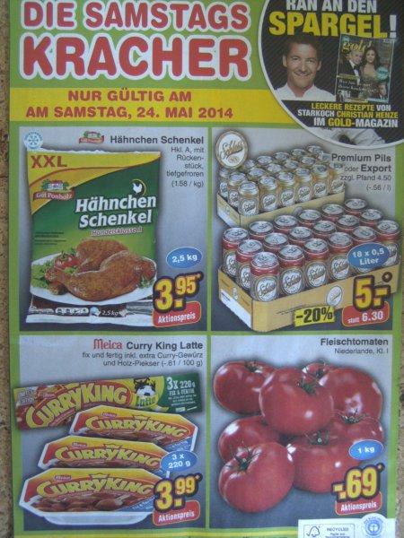 Netto  nur Samstag  24. Mai  Fleischtomaten Niederlande 1 Kilo 0,69 €