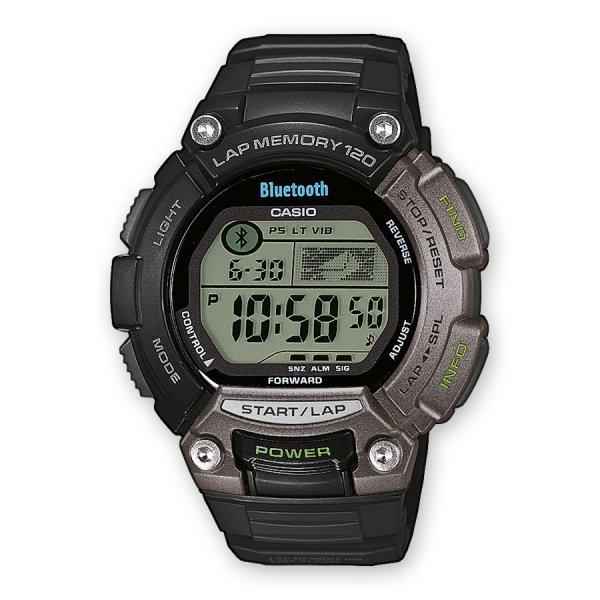 [amazon.de] Casio Unisex-Armbanduhr XL Digital Quarz Resin STB-1000-1EF Bluetooth-Sportuhr für 79,90 €