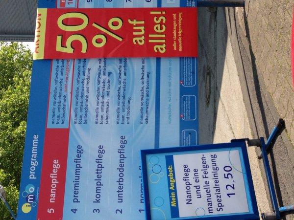 IMO Car Wash 50 % Rabatt auf jede Autowäsche (Bochum , Hofsteder Str. 202 )