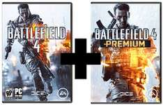 [PC] Battlefield 4 + Battlefield 4 Premium (Bundle) Origin Key für 56,99€