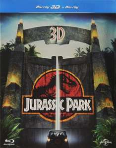 [amazon.it] Jurassic Park (+ Blu-ray) [3D Blu-ray]  inkl. Vsk für 12,64 €