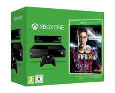 Xbox One  inkl. Kinect+ Fifa 14 + 2. Controller + Metal Gear Solid V für 476,02€ inkl.Versand @Amazon.fr