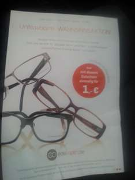 Lokal HH Edeloptics Brille mit Gestell von Strenesse und passende Gläser in deiner Stärke