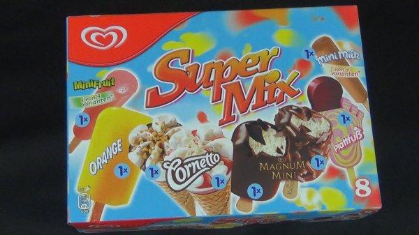 Netto ohne Hund (bundesweit): Langnese Super Mix je Packung nur 1,99 Euro