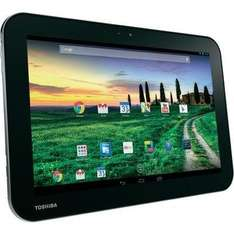 Toshiba AT10 Android-Tablet 25.7 cm (10.1 Zoll) 32 GB WiFi Silber 1.9 GHz Quad Core @ Conrad