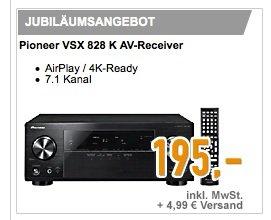 Pioneer VSX-828 für 195,- +4,95 Versand - 7.1 AV-Receiver