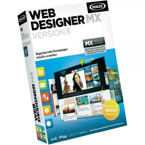 MAGIX Web Designer MX Version 8 kostenlos