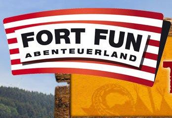 Eintrittskarten für den Freizeitpark Fort Fun Abenteuerland, an Dienstagen sogar 10,90 €