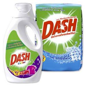 [REAL] Dash Waschmittel 4x 2,49€ (18 WL) minus 4€ Coupon pro WL 0,083€