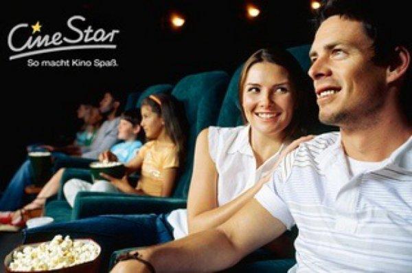 [Groupon] Cinestar Kinogutschein inkl. Popcorn für 7€ statt 14€   - 9% qipu