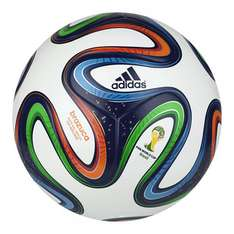 Adidas Brazuca Replica Ball WM 2014  bei Teamsport Philipp Gr. 5 für 17,95 € + 4,99 VSK