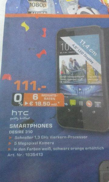 [SATURN AACHEN] HTC DESIRE 310 für 111,00