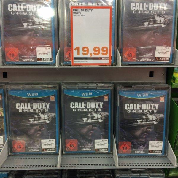 Call of Duty Ghosts - Wii U / HH Saturn Mönckeberg