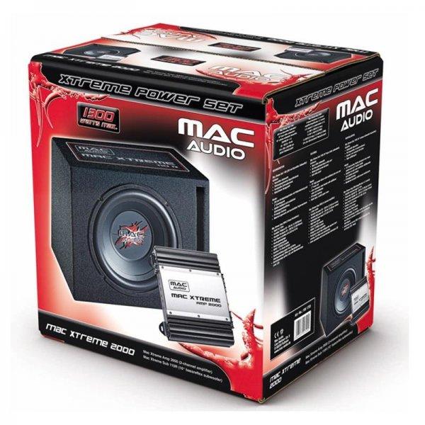 Mac Audio Xtreme 2000 Subwoofer-/Endstufenset für 77,- EUR nur diese Woche bei Saturn Hanau