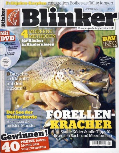 Blinker (für Angler) im Monatsabo für 7,40€ jährlich ( Prämienabo)