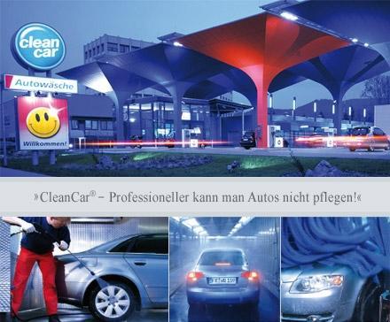 CleanCar Platinwäsche in 26 Filialen bundesweit mit 50% Rabatt