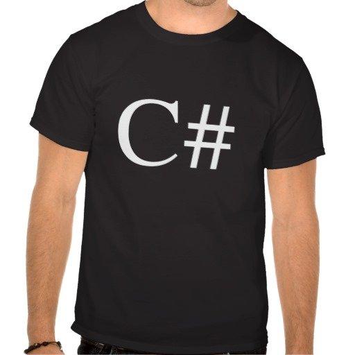 Kostenloses C#-Shirt von Xamarin