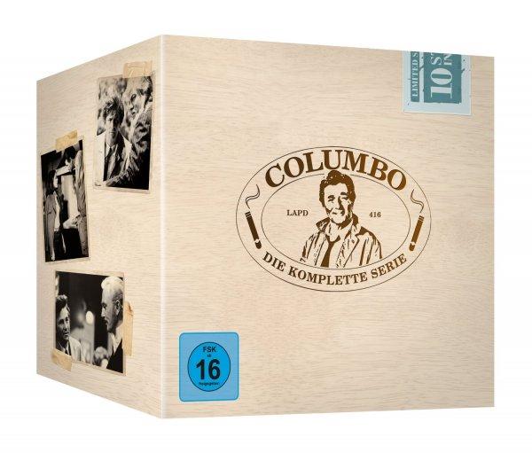 [media-dealer.de] Columbo - Die komplette Serie (35 DVDs)inkl. Vsk für 59,39 € mit Newsletter Gutschein