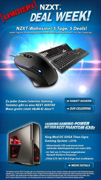 Avatar [Maus] von NZXT gratis beim Kauf einer  Zowie Celeritas Tastatur
