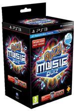 Buzz! The Ultimate Music Quiz inkl. 4 Buzzer (PS3, Move compatible) - ca. 20,50 €