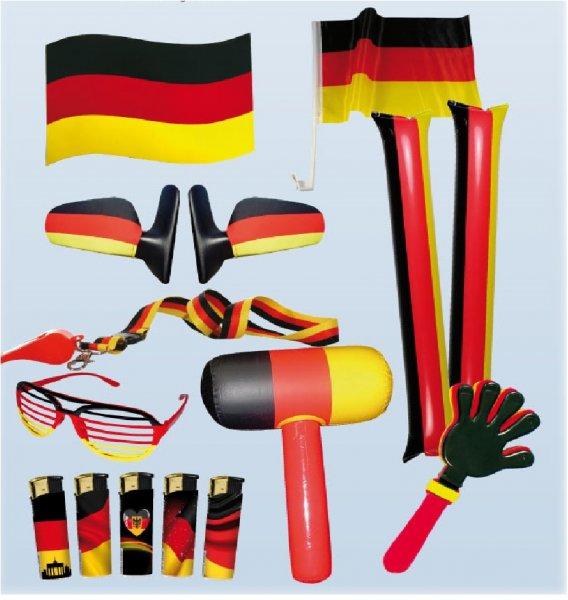 Deutschland Damen und Herren Fanpaket 11 tlg WM für 11,99 € bei Ebay.de