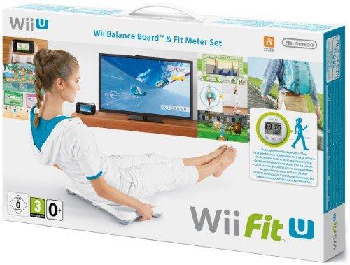 Wii U Fit U + Fit Meter grün + Wii Balanca Board white