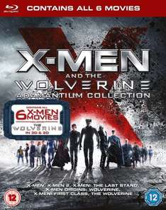 [Zavvi.es u. Zavvi.nl] X-Men And The Wolverine Adamantium Collection [Blu-ray 3D + Blu-ray] inkl. Vsk für 19,12 € mit Gutschein ZESMAYO Update!