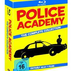 Police Academy Collection (7 Discs) (exklusiv bei Amazon.de) [Blu-ray]   Für 29,99€