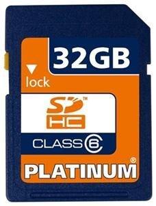 Platinum 32GB SDHC   Speicherkarte  @computeruniverse