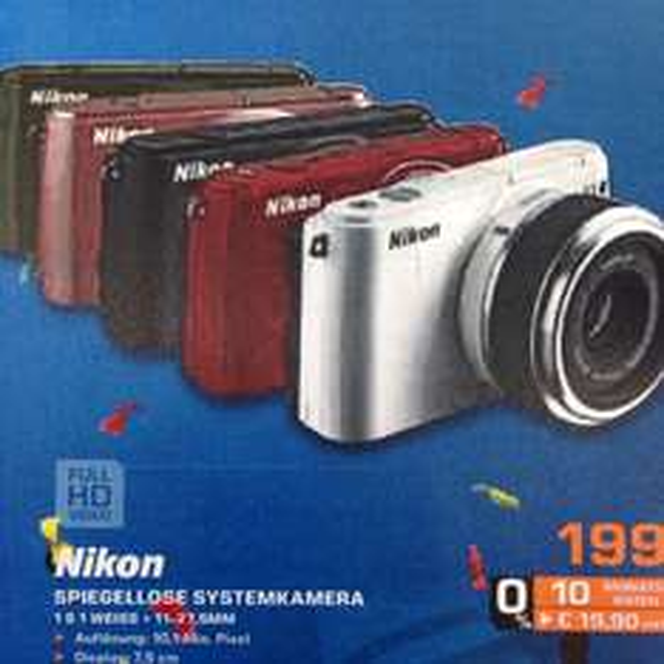 Nikon 1s1  + 11-27,5 mm Systemkamera