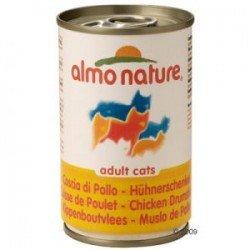 24 x 140g Almo Nature mit Hühnerschenkel für 12,92 € @Katzenland