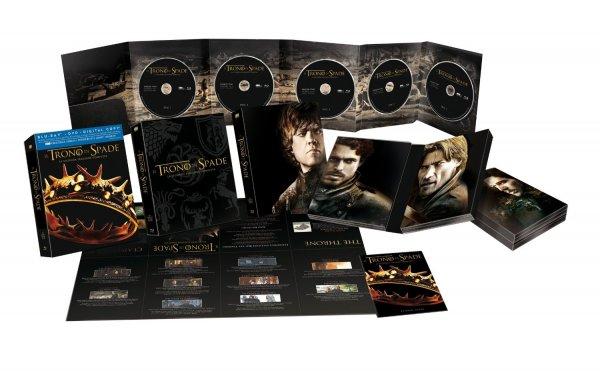 [amazon.it] Game of Thrones - Staffel 2 [Blu-ray]  Digibook Edition (5 Discs) inkl. Vsk für 28,16 €