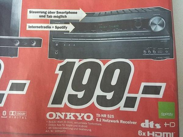 Onkyo TX-NT 525 Receiver - Lokal - Mediamarkt - Bundesweit?