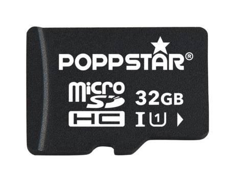 [Meinpaket OHA] 32 gb poppstar micro sdhc inkl. sd adapter class 10 für 12,99