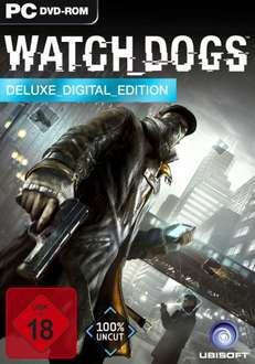 Watchdogs Deluxe Edition für 43,95€ Uplay