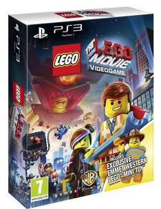 The Lego Movie Videogame + Emmet Western Lego-Minispielzeug (PS3) für 33€ @Amazon.co.uk