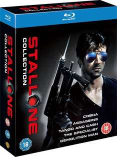 [Zavvi.nl] Stallone Collection Blu Ray