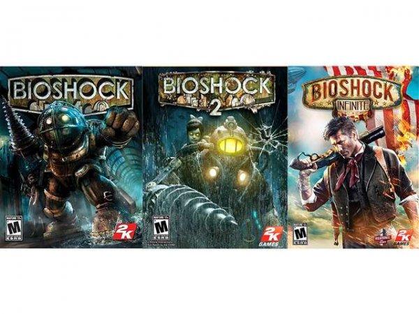 [newegg.com] Bioshock Triple Pack (1 + 2 + Infinite) Online Game Codes für ca. 8,70€ - leider nur mit American Express