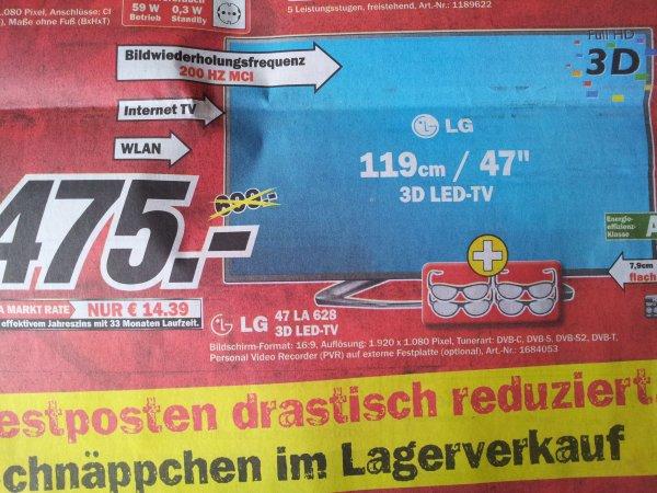 [lokal] LG 47 LA 6208 + 4 x 3D-Brillen @ MM Wetzlar
