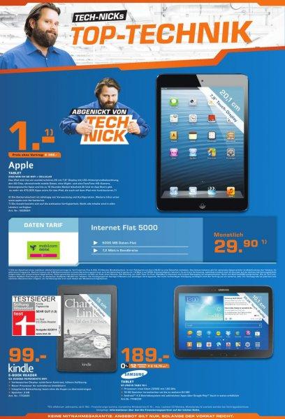 [Saturn Kempten]Neuer Kindle Paperwhite(2013) für 99€ anstatt 129€