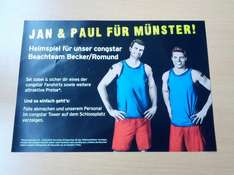 [Lokal: Münster] kostenlose congstar T-Shirts + Anderes